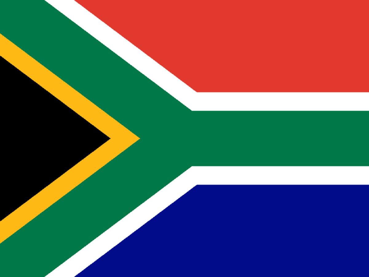 South African flag South African flag