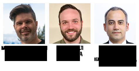 Marcus Bubbleman Richardson, Vincent D'Accolti, Reza Mohd Ali