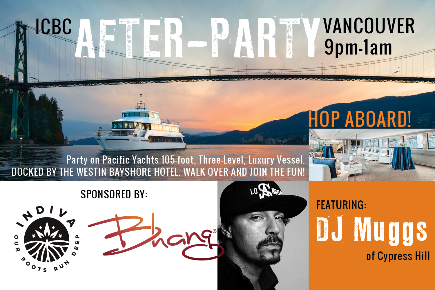 Vancouver ICBC 2019 Pacific Yachts After Party with DJ Muggs