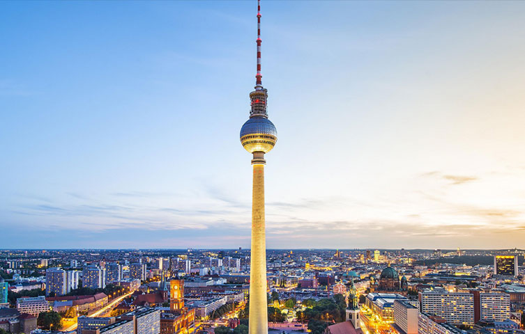 Intercontinental Hotel Berlin ICBC 2020 city view
