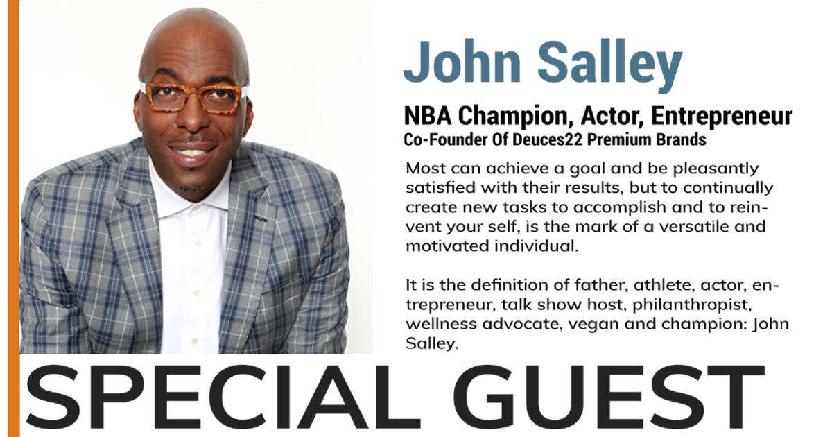 John Salley Vancouver 2019 Guest Speaker2