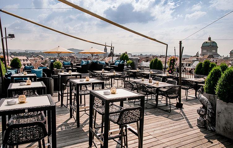 Hotel Bern Schweizerhof Rooftop Restaurant
