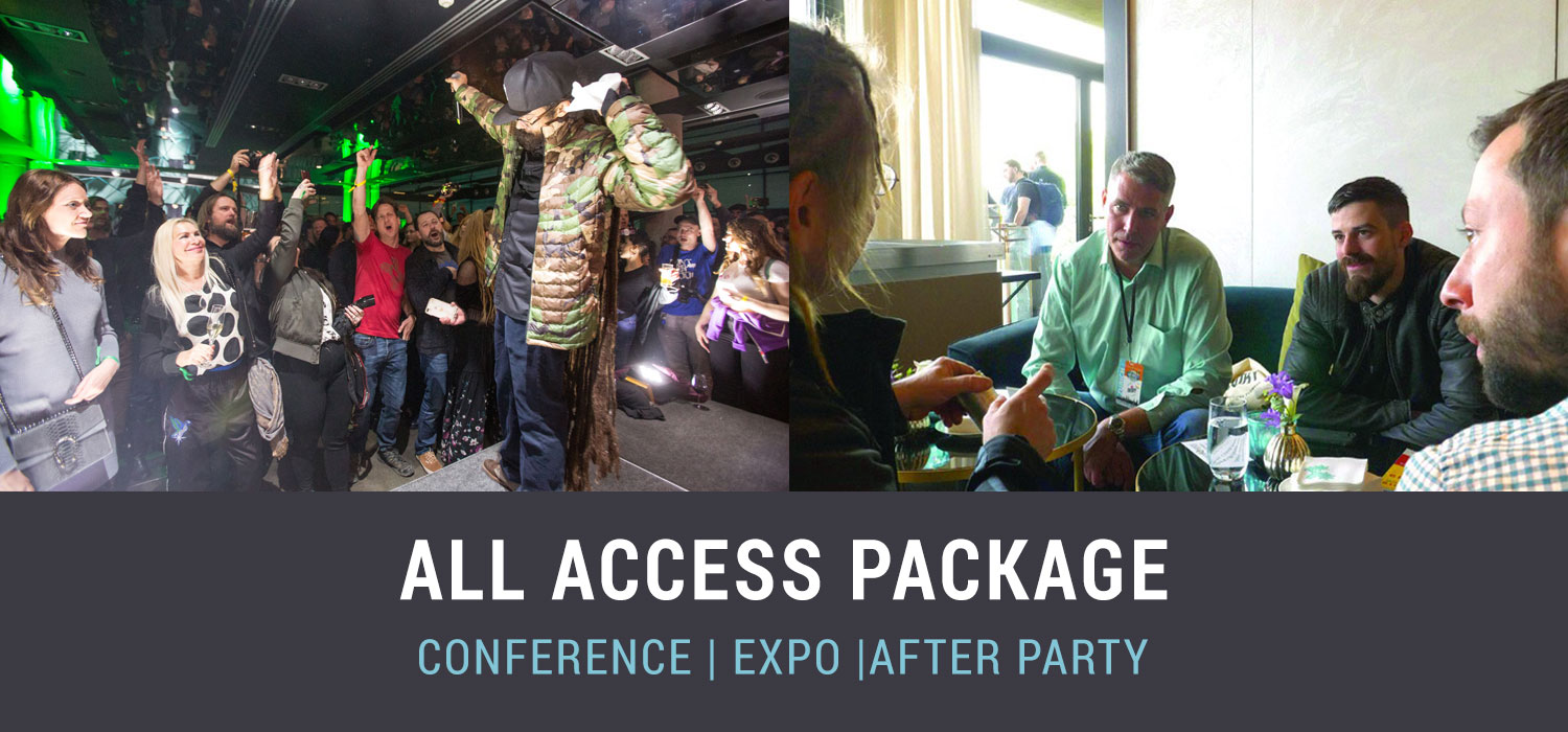 Barcelona Cannabis Business Conference All Access Package