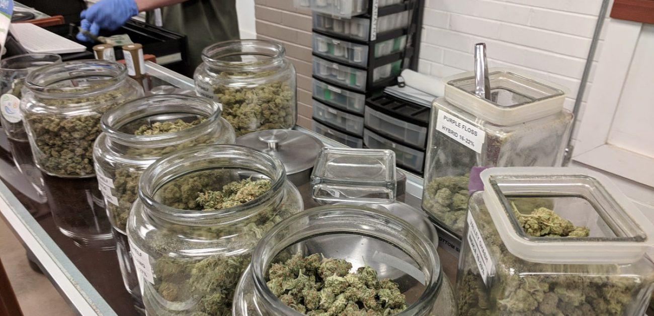 dispensary jars